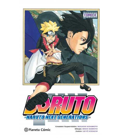 Boruto: Naruto Next Generations Nº 04