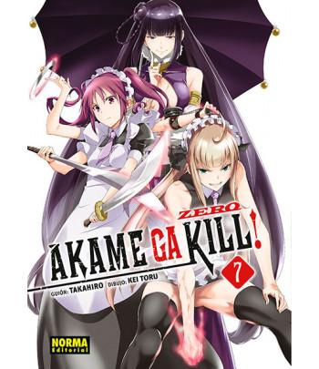 Akame ga Kill! Zero Nº 07...