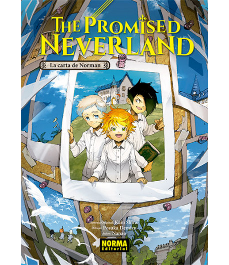 The Promised Neverland: La carta de Norman (Novela Ligera)