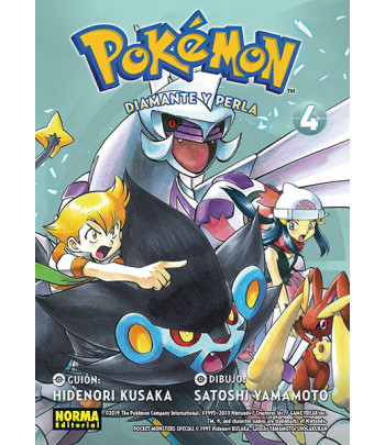 Pokémon Nº 20 - Diamante y...