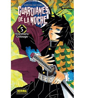 Guardianes de la noche Nº 05