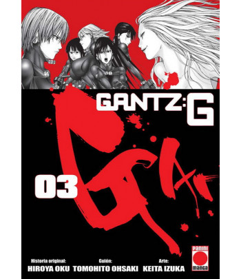 Gantz:G Nº 3 (de 3)