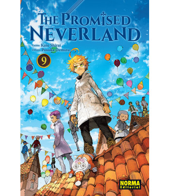 The Promised Neverland Nº 09