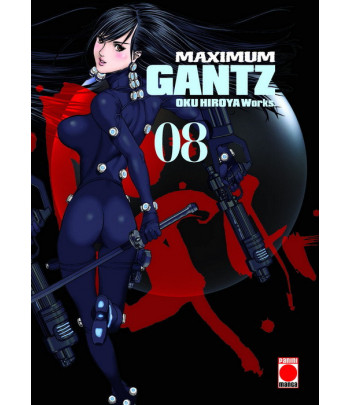 Maximum Gantz Nº 08 (de 18)