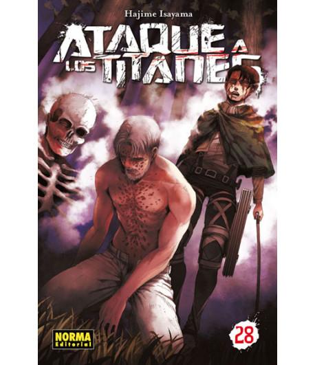 Ataque a los Titanes Nº 28