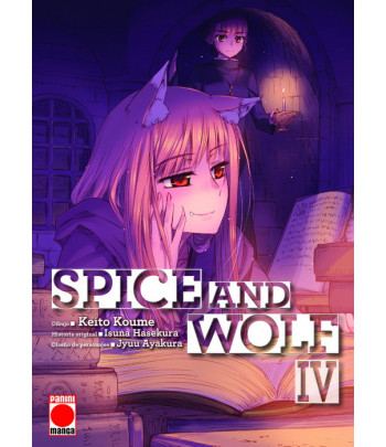Spice and Wolf Nº 4 (de 8)