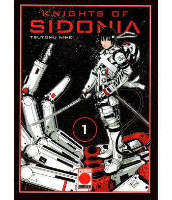 Knights of Sidonia Nº 01...