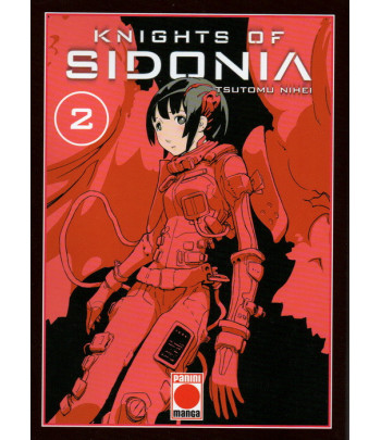 Knights of Sidonia Nº 02...