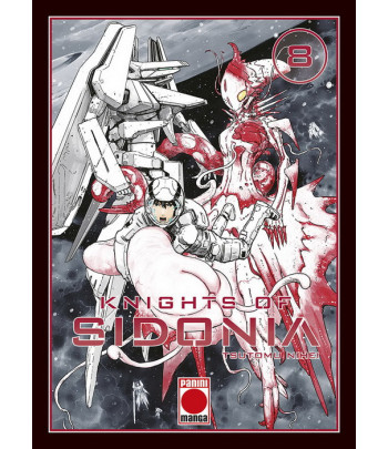 Knights of Sidonia Nº 08...