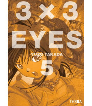 3x3 Eyes Nº 05 (de 24)