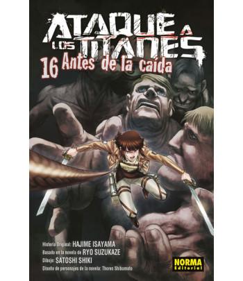 Ataque a los Titanes: Antes...