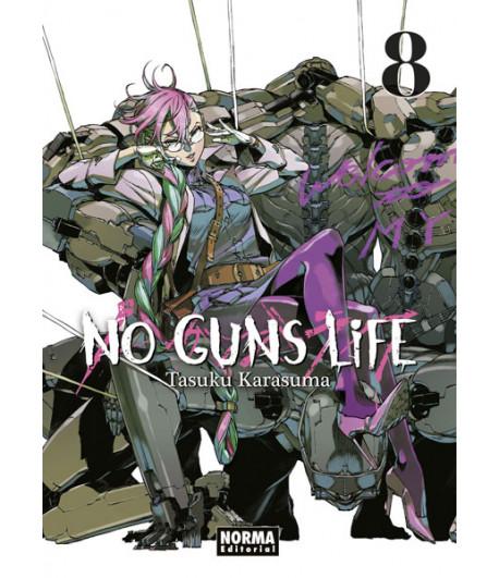 No Guns Life Nº 08