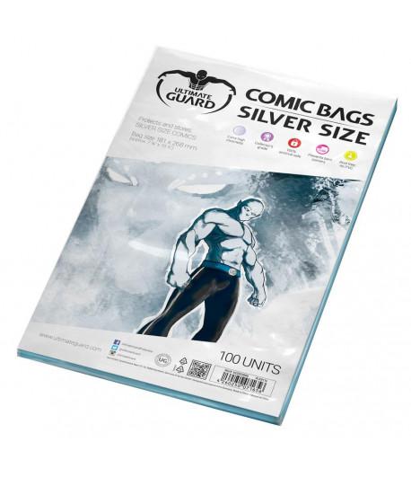 Bolsas Cómic tamaño Silver (100 unidades)