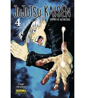Jujutsu Kaisen Nº 04