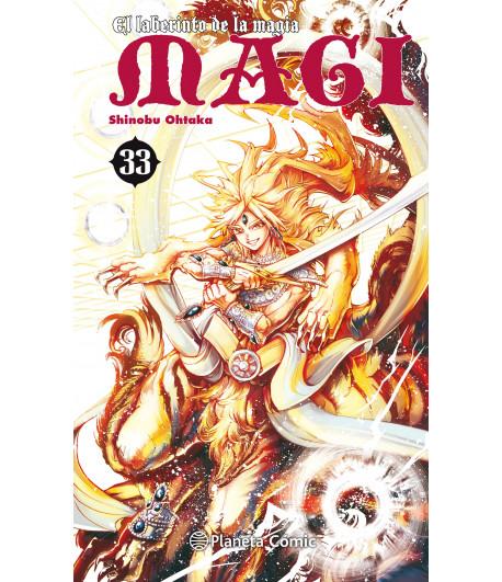 Magi el Laberinto de la Magia Nº 33 (de 37)