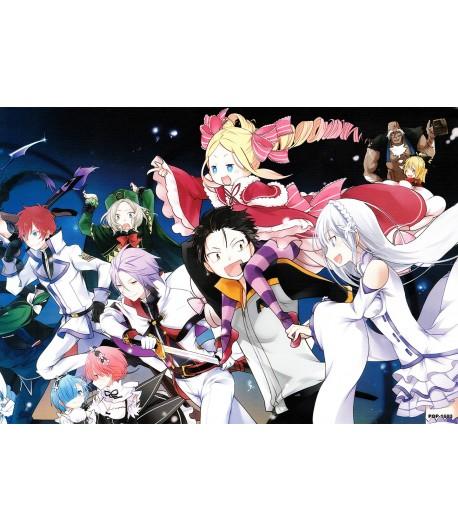 Póster Re:Zero kara Hajimeru Isekai Seikatsu 02