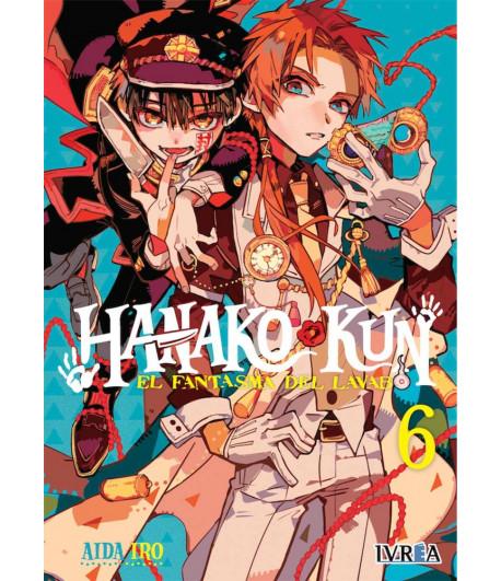Hanako-kun, el fantasma del lavabo Nº 06