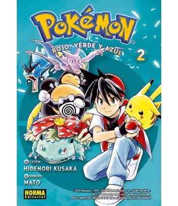 Pokémon Nº 02 - Rojo, Verde...