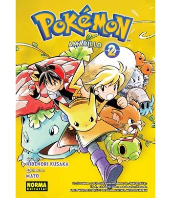 Pokémon Nº 04 - Amarillo 2