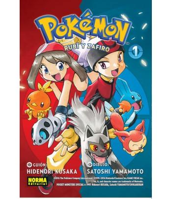 Pokémon Nº 09 - Rubí y...