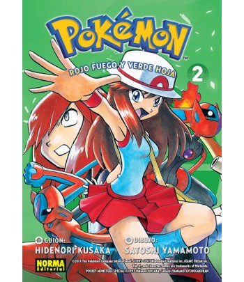 Pokémon Nº 14 - Rojo Fuego...