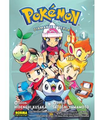 Pokémon Nº 17 - Diamante y...