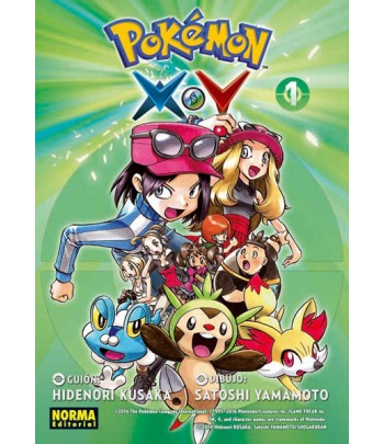 Pokémon X-Y Nº 1 (de 6)