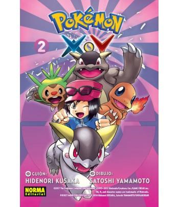 Pokémon X-Y Nº 2 (de 6)