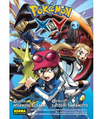 Pokémon X-Y Nº 3 (de 6)