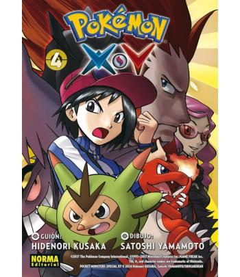 Pokémon X-Y Nº 4 (de 6)