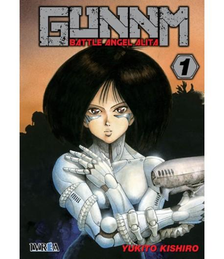 Gunnm (Battle Angel Alita) Nº 01