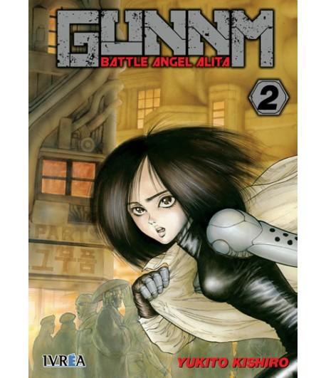 Gunnm (Battle Angel Alita) Nº 02