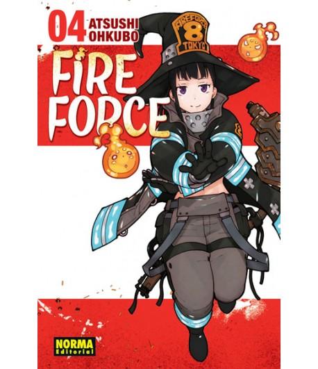Fire Force Nº 04