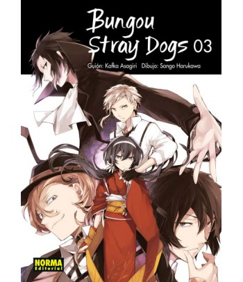 Bungou Stray Dogs Nº 03