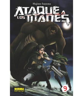 Ataque a los Titanes Nº 09
