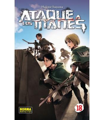 Ataque a los Titanes Nº 18