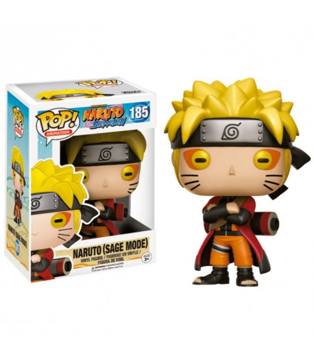 Vinyl POP Animation Nº 185: Naruto Sage Mode (Ed. Limitada)
