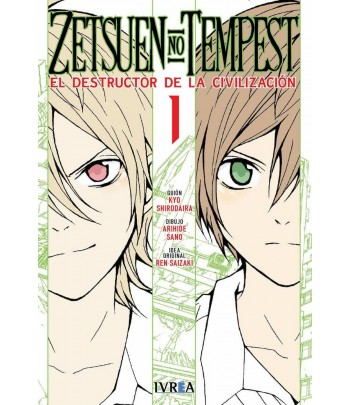 Zetsuen no Tempest Nº 01...