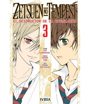 Zetsuen no Tempest Nº 03