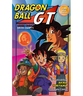 Dragon Ball GT: 100 años...