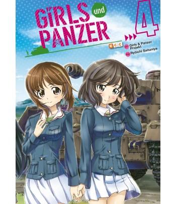 Girls und Panzer Nº 4 (de 4)