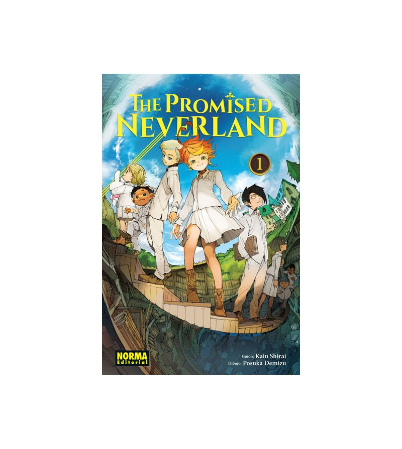 The Promised Neverland Nº 01 (de 20)