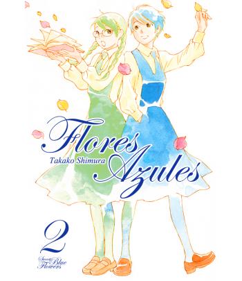 Flores azules Nº 02