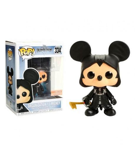 Vinyl POP Kingdom Hearts Nº 334: Mickey Organización XIII