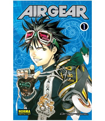 Air Gear Nº 01 (de 37)