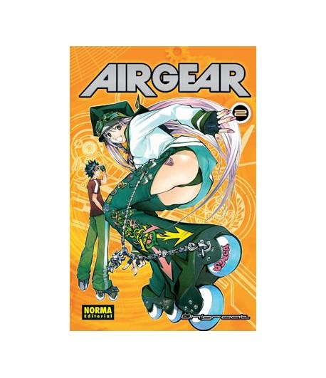 Air Gear Nº 02 (de 37)