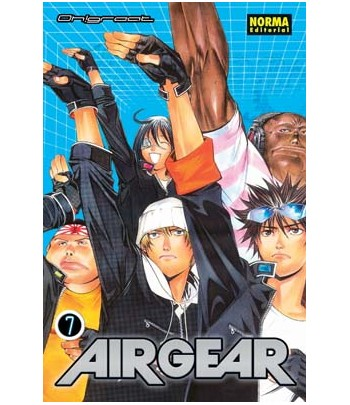 Air Gear Nº 07 (de 37)
