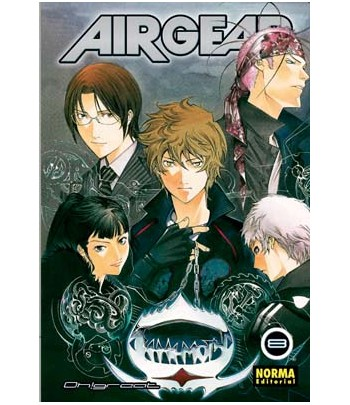 Air Gear Nº 08 (de 37)