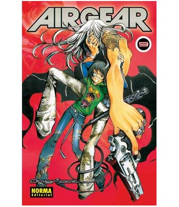Air Gear Nº 09 (de 37)