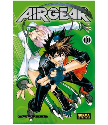 Air Gear Nº 10 (de 37)
